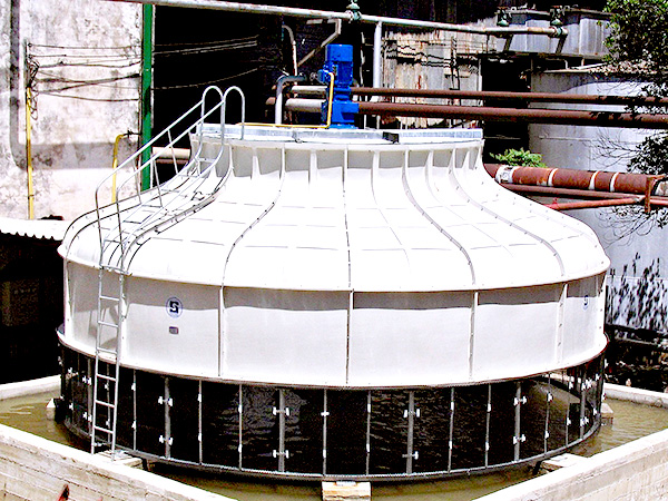 INDUCED DRAFT COUNTERFLOW COOLING TOWER (BOTTLE TYPE) MODEL : BCT
