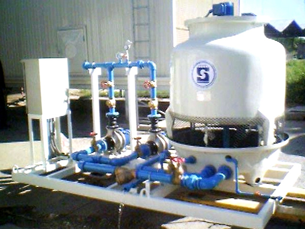 COOLING WATER PACKAGE UNIT